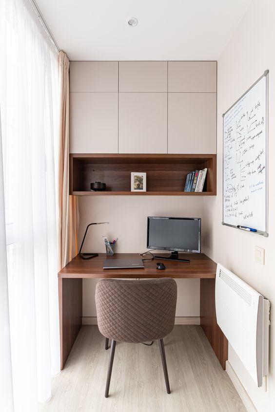 dekorasi ruang kerja minimalis dirumah 1