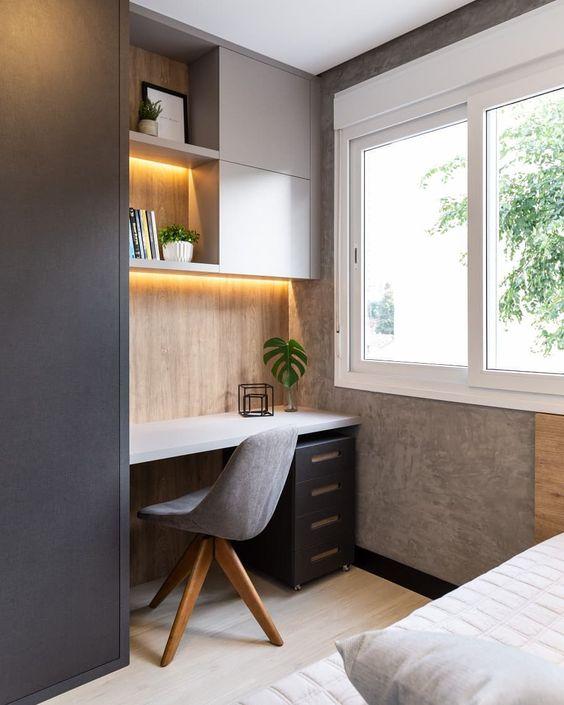 dekorasi ruang kerja minimalis dirumah 2