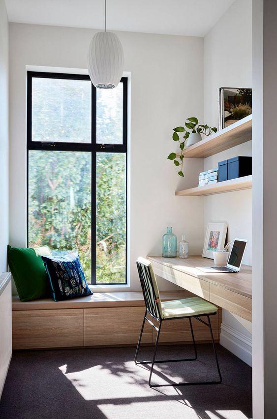 dekorasi ruang kerja minimalis dirumah 3